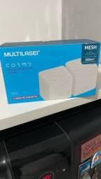 Multilaser RE010 Roteador Mesh Cosmo AC1200 2 Peças Dual Band
