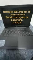 Notebook Dell Inspiron 15 3000 ( 7 meses de uso)