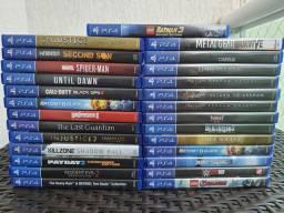 Jogos PS4 - Valor no anúncio