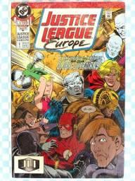 Justice League Europe Annual 1 (1990)     [DC   HQ Gibi Quadrinhos]