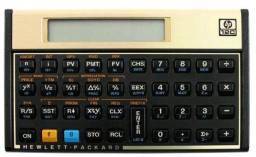Calculadora Financeira 12C gold HP Seminova