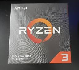 Processador Ryzen 3 3100 (6 meses de uso + Ainda na garantia)