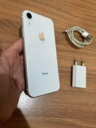 Título do anúncio: IPhone XR 64gb branco
