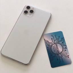 IPhone  11 Pro Max  Silver  - 256GB - Nota  + Garantia de 3 Meses