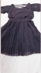Vestido sanfonado