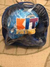Título do anúncio: Kit patins criança