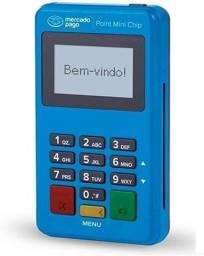 Título do anúncio: Maquininha de Cartão Point Mini Chip Mercado Pago Máquina NFC