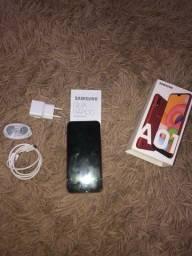 Samsung Galaxi A01 32G 8 meses de uso