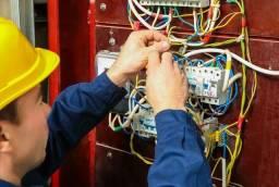 Eletricista aceito cartão
