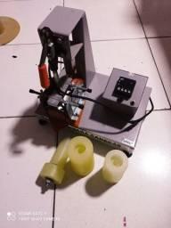 Impressora laser e máquina de estampar copos