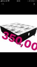 CAMA BOX CASAL LUXO FRETE GRATIS
