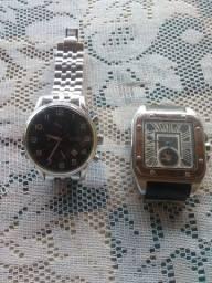 Título do anúncio: Relógios Hugo Boss e Cartier