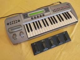 Korg Prophecy em estado de novo - controlador MIDI e gerador monofônico