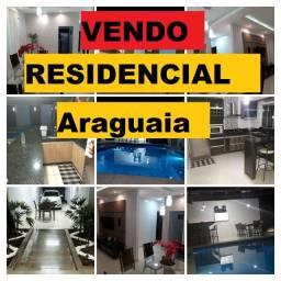 Res. AraguaiaAnápolis  casa top com piscina aquecida fimanciar apenas 430 mil