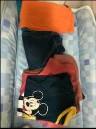 Lote de roupas menino 3 anos