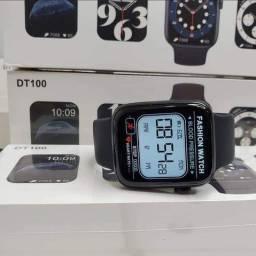 Relógio Smart Iwo DT100 - NOVO (Monitor de saúde, redes sociais, esportes)