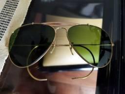 Óculos Rayban Vintage Outdoorsman Bausch & Lomb Tamanho 58