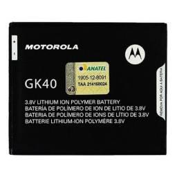 Bateria Motorola original GK40 para modelos serve p o G4,G5,e4, moto c