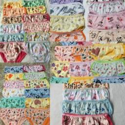 12 Calcinhas infantil por 35 reais