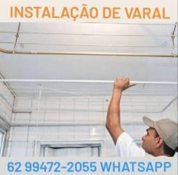 +Marido de aluguel  // Instalação de VARAL