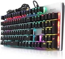Teclado mecânico LED philips
