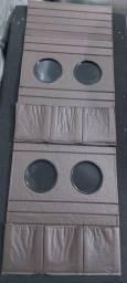 Bandeija flexível porta copo + porta controle (valor unitário)