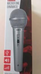Microfone Dinâmico Tomate Profissional MT-1018
