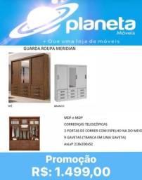 Título do anúncio: GUARDA ROUPA MERIDIAN / AQUÁRIOS AQUÁRIOS AQUÁRIOS
