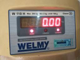Balança Welmy 200 Kg. Autorizada Pelo Inmetro
