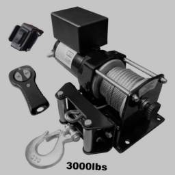 Título do anúncio: Guincho elétrico novo na caixa 3000 libras com controle remoto