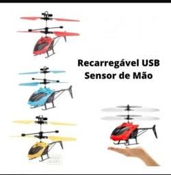 Mini Helicóptero por Sensor Indução