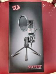 Título do anúncio: Microfone Streamer Gamer Redragon Gm100, P2