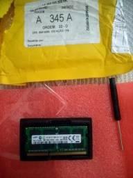 Título do anúncio: Memória RAM 8GB DDR3 PARA NOTEBOOK