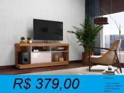 Rack Bancada para tv de até 70 Pol. com 1,60 de largura - entrega e montagem gratuita
