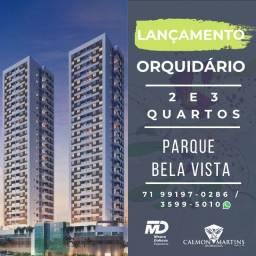 Oportunidade - 2/4 com 1 suíte e varanda - Orquidário Parque Bela Vista