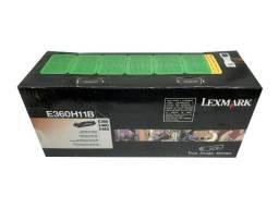 Título do anúncio: Toner Lexmark E360H11B Black Original Novo