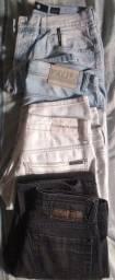Calças jeans n° 40 ( Calvin Klein, Ellus, Vroon) R$ 140,00 - as 4 peças