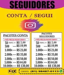 Seguidores Instagram / Conta Instagram 30K ( Iphone / motorola / samsung )