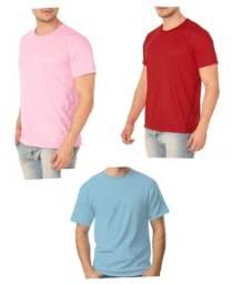 Camisetas lisas sem estampas para sublimação