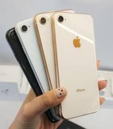 Apple iPhone 8 64GB 12xSem juros /Garantia/Nota/Loja Física/ Impecáveis