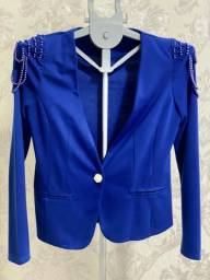 Blazer Azul Social