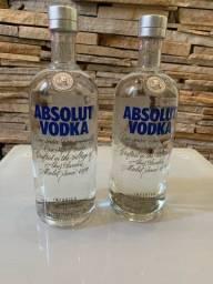2 Absolut Vodka 1L