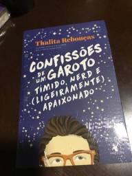 Livro Confissões de Um Garoto - Thalita Rebouças