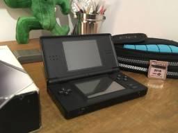 Nintendo DS Lite Preto + R4 na caixa original
