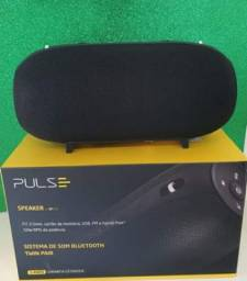 Título do anúncio: Caixa pulse SP 273 Bluetooth 50w RMS