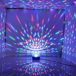Globo Luz Led Musical USB (Novo, aceito cartão)