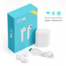 Fone de Ouvido sem fio i11 TWS Bluetooth 5.0  Branco