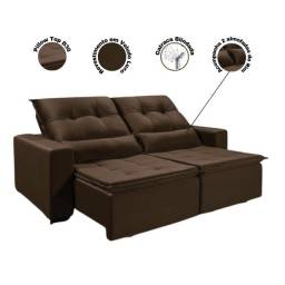 Título do anúncio: sofá retrátil e reclinável Chicago 2,00 mts frete grátis