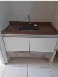 Pia de mármore + gabinete