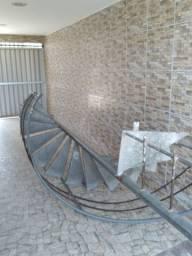 Escada giratória caracol galvanizada